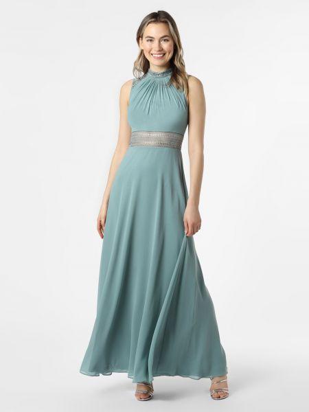 Zielona sukienka wieczorowa V.m.
