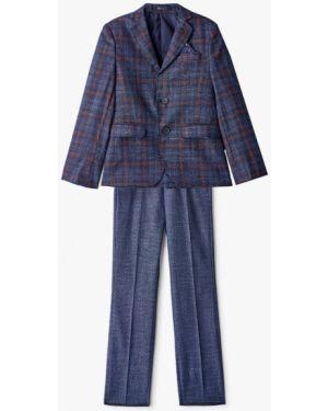 Пиджак синий костюмный Mili