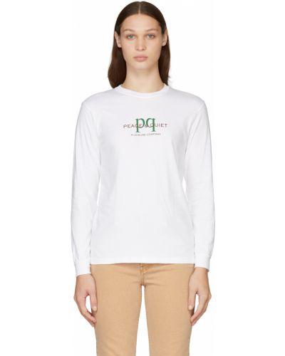 Biała koszulka bawełniana Museum Of Peace And Quiet