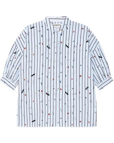 Блузка с вышивкой с пышными рукавами Essentiel Antwerp