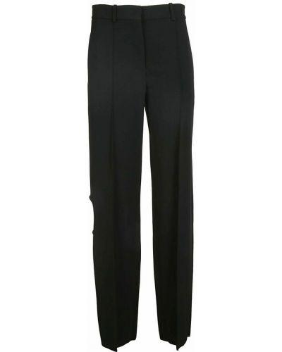 Spodnie - czarne Victoria Beckham