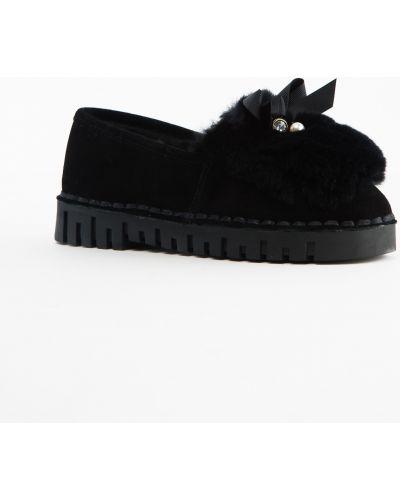 Кожаные туфли черные Prima D'arte