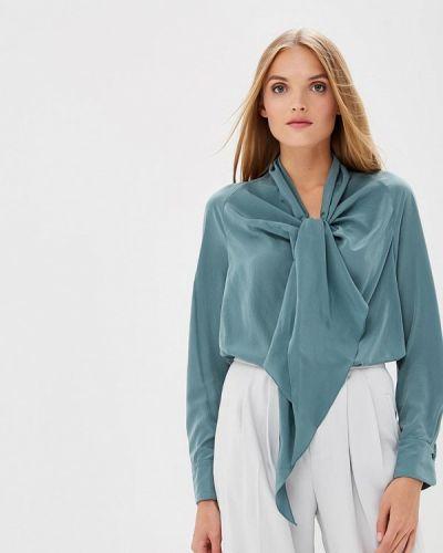 Блузка с бантом зеленый Imago
