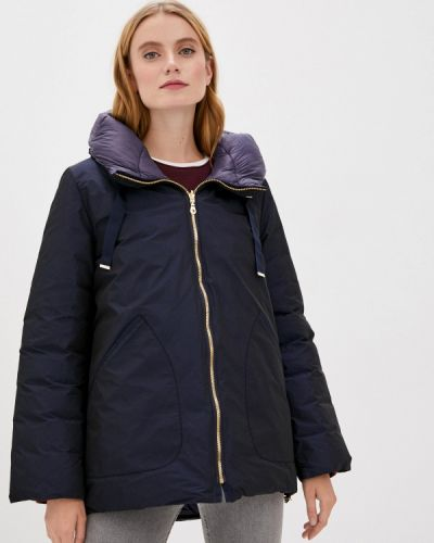 Теплая синяя куртка Dixi Coat