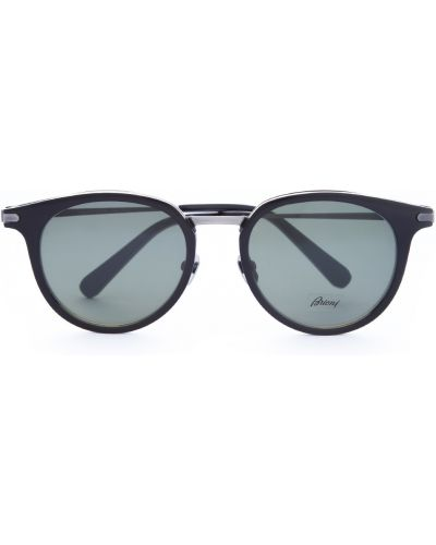 Солнцезащитные очки вайфареры стеклянные Brioni