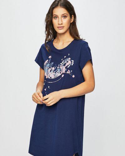 Пижама с рубашкой темно-синий Triumph