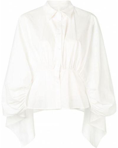 Длинная рубашка - белая Jovonna