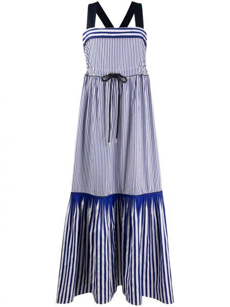Платье макси в полоску расклешенное Tommy Hilfiger
