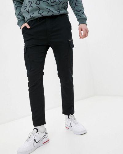 Черные брюки карго Ostin