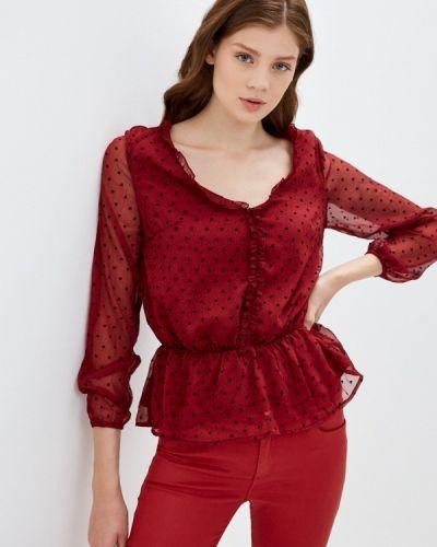 С рукавами красная блузка Brave Soul