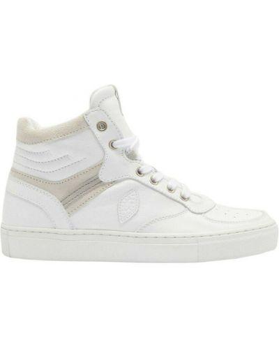 Białe sneakersy Ba&sh