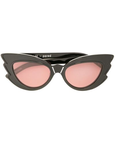 Солнцезащитные очки кошачий глаз черные Pared Eyewear