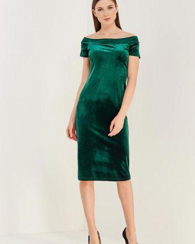 Зеленое платье льняное Alina Assi