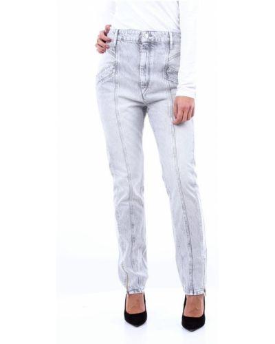 Szare jeansy Isabel Marant
