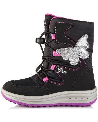 Ботинки спортивные на шнуровке Geox