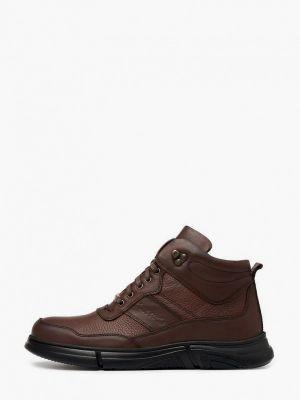 Коричневые резиновые ботинки Pierre Cardin