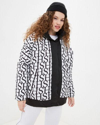 Утепленная куртка - черная Sh