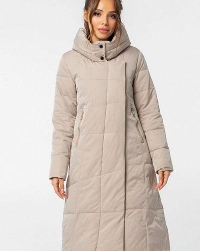 Бежевая теплая куртка Whitefox