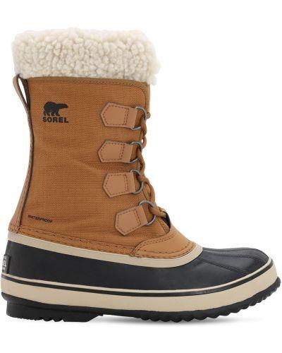 Зимние ботинки на шнуровке Sorel