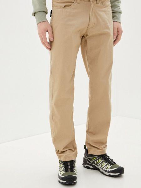 Прямые брюки бежевый Outventure