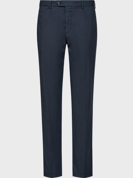 Хлопковые брюки - синие Barba Napoli