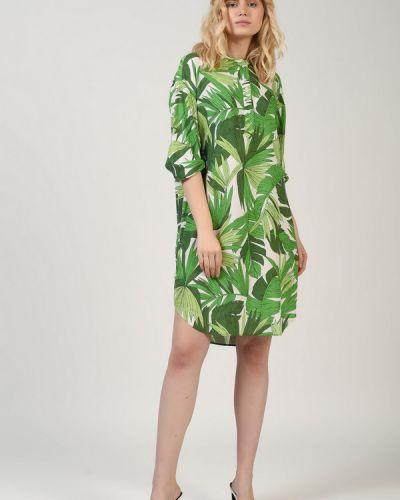Платье из вискозы Gant