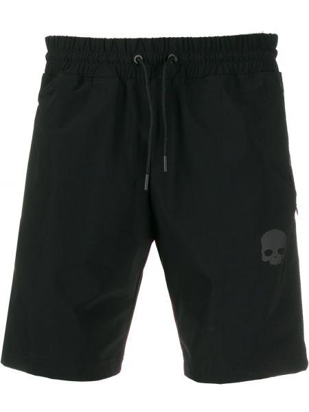 Черные спортивные шорты с карманами Hydrogen