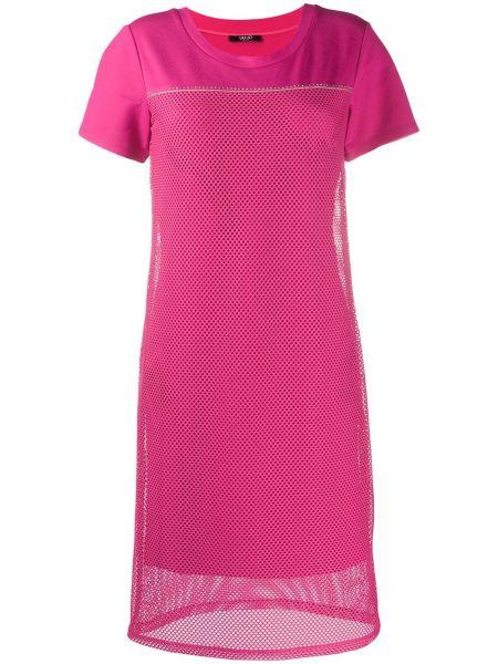 Платье миди сетчатое платье-майка Liu Jo