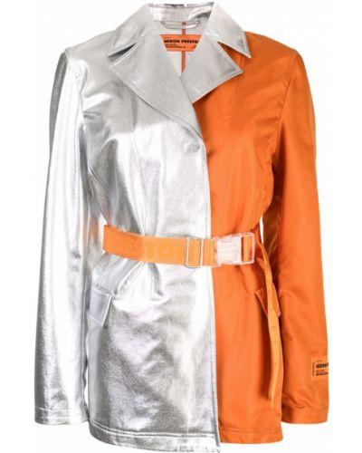 Пальто с капюшоном Heron Preston