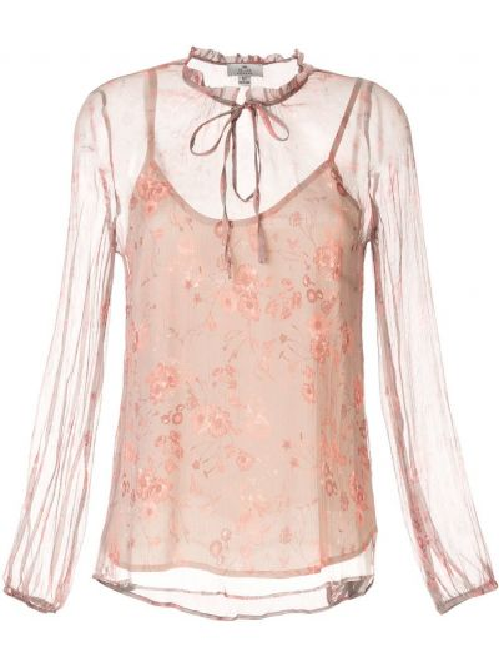 Блузка с длинным рукавом с цветочным принтом We Are Kindred