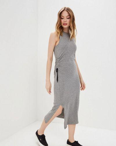 Платье серое прямое Cheap Monday