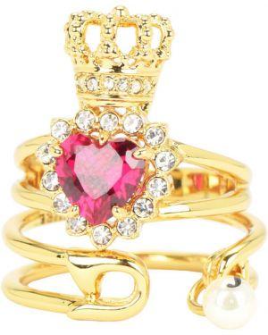 Кольцо с жемчугом набор Juicy Couture