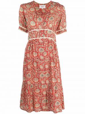 Sukienka midi w kwiaty Ba&sh