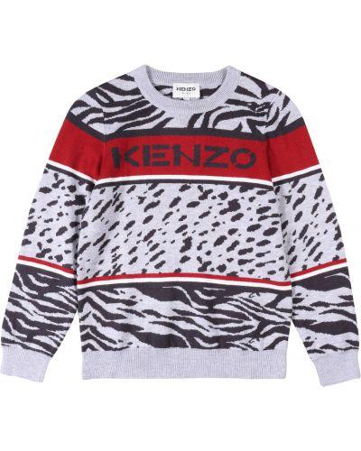 Sweter - szary Kenzo