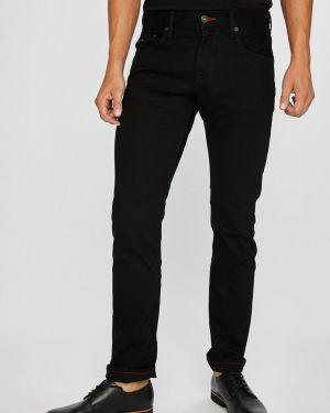 Jeansy o prostym kroju długo z kieszeniami Tommy Hilfiger