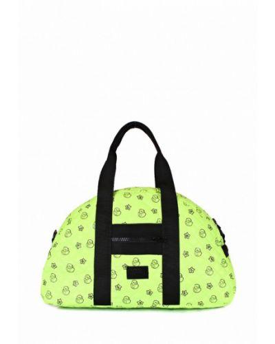 Зеленая спортивная сумка Poolparty
