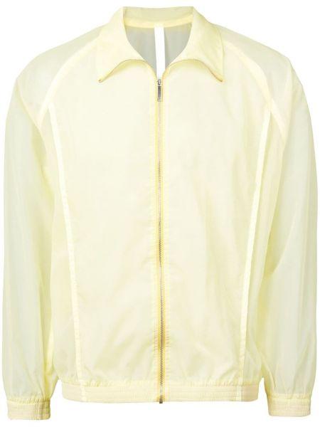 Żółta długa kurtka z długimi rękawami Cottweiler