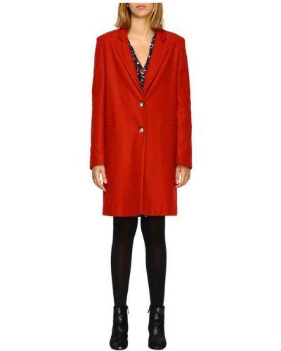 Czerwony długi płaszcz Manila Grace