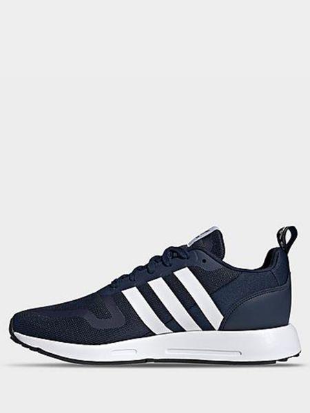 Городские синие кроссовки с запахом Adidas
