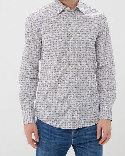 Белая рубашка с длинным рукавом United Colors Of Benetton