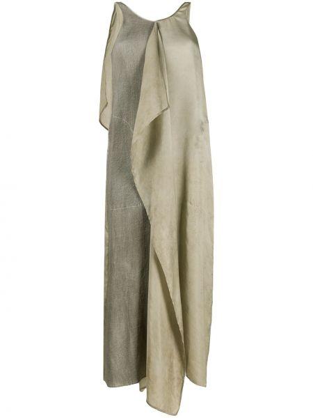 Sukienka asymetryczna z wiskozy bez rękawów Uma Wang