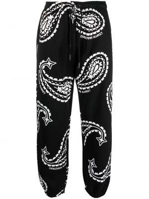 Прямые брюки - черные Chinatown Market