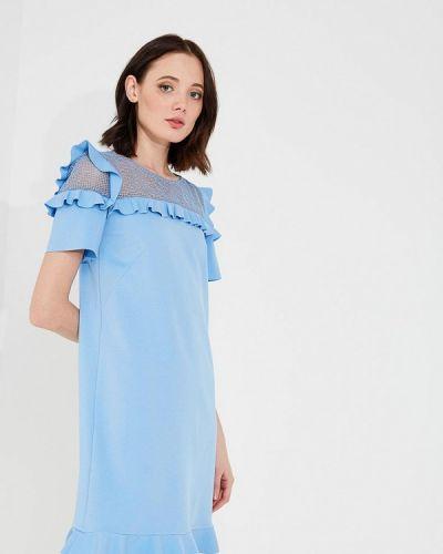 Голубое платье весеннее Liu Jo