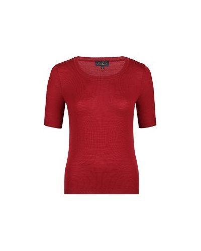 Красный шерстяной джемпер Luisa Spagnoli