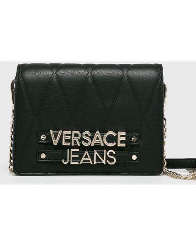 Джинсы mom черные Versace Jeans