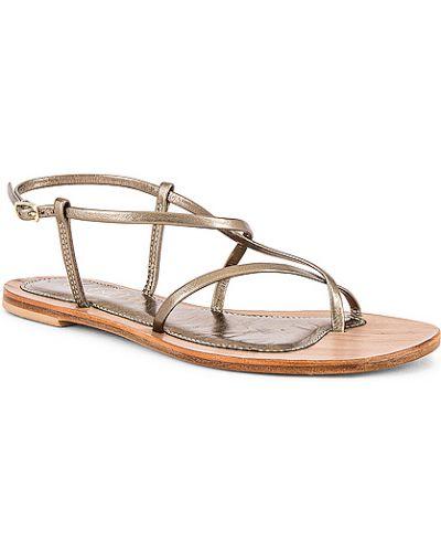 Sandały skorzane na co dzień klamry Cornetti