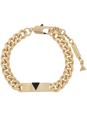 Золотистый желтый браслет позолоченный Coup De Coeur