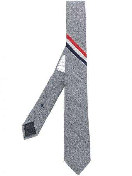 Krawat wełniany klasyczny Thom Browne