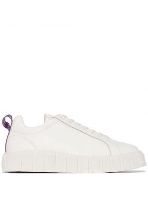 Buty sportowe skorzane - białe Eytys