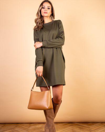 Повседневное платье мини - зеленое Mari-line
